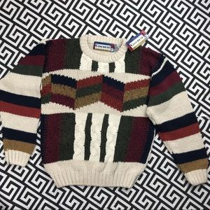 •Vintage•Concrete crop sweater small NWT deadstock